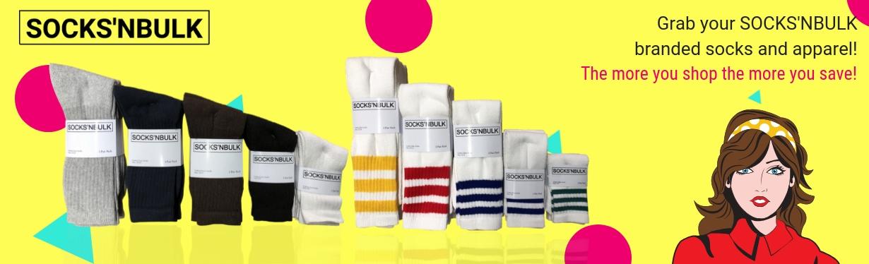 """Shop SOCKS""""NBULK Brand"""