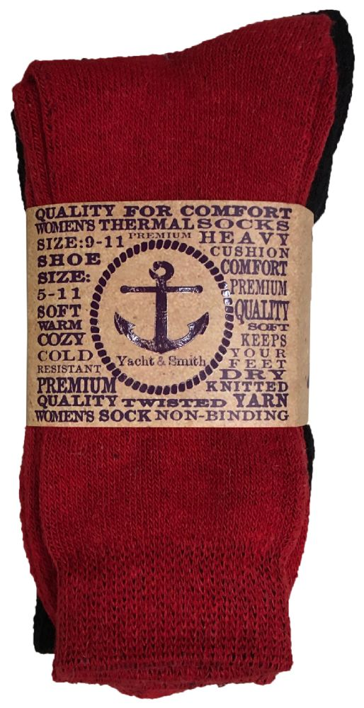 542aedbd3dad0 Yacht & Smith Women's Warm Thermal Boot Socks BULK PACK 36 pack - at ...
