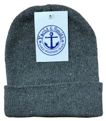Yacht & Smith Kids Winter Beanie Hat Assorted Colors 6 pack