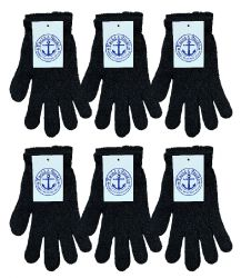 Yacht & Smith Unisex Black Magic Gloves 6 pack
