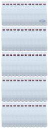 Yacht & Smith King Size Men's 31 Inch Terry Cushion Cotton Extra Long USA Tube Socks- Size 13-16
