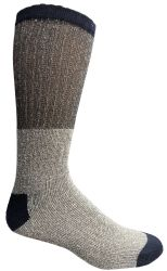 Yacht & Smith Mens Cotton Thermal Crew Socks , Warm Winter Boot Socks 10-13 6 pack