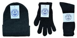 Winter Bundle Care Kit, For Men Includes Socks Beanie And Glove 360 pack