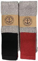 Yacht & Smith Men's Winter Thermal Tube Socks Size 10-13 120 pack