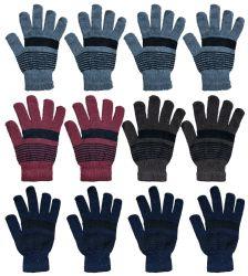 Bulk Glove Mix For Men And Women Winter Warm Knit Glove Lot 960 pack