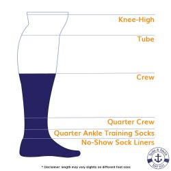 Yacht & Smith Men's Cotton Crew Socks Black Size 10-13 240 pack