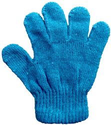 Yacht & Smith Kids Warm Winter Colorful Magic Stretch Gloves Ages 2-5 12 pack