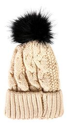 Socksnbulk Value Pack Of Winter Beanie With Pom Pom, Assorted (8 Pack Solids With Faux Fur) 8 pack