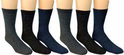 Yacht & Smith Mens Heavy Duty Wool Blend Winter Warm Work Socks 12 pack