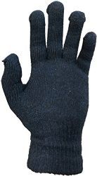 Yacht & Smith Men's Winter Gloves, Magic Stretch Gloves In Assorted Solid Colors 12 pack