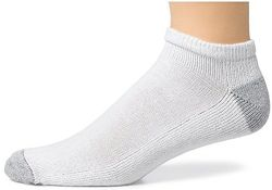 36 Pair Pack Of Mens White Low Cut Cotton Sport Socks Made In The Usa