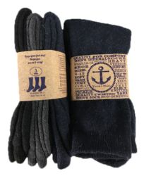 Yacht & Smith Men's Winter Thermal Crew Socks Size 10-13