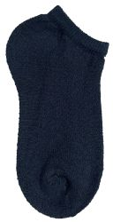 Yacht & Smith Kids No Show Ankle Socks Size 6-8 Black Bulk Pack 60 pack