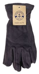 Yacht & Smith Mens Double Layer Fleece Gloves Packed Assorted Colors 24 pack