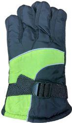 Yacht & Smith Kids Ski Glove, Fleece Lined Water Resistant Bulk Kids Winter Gloves (48 Pack Assorted)