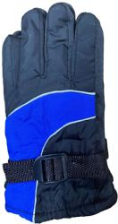 Yacht & Smith Kids Ski Glove, Fleece Lined Water Resistant Bulk Kids Winter Gloves (24 Pack Assorted)