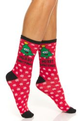 Yacht & Smith Christmas Holiday Socks, Sock Size 9-11 24 pack