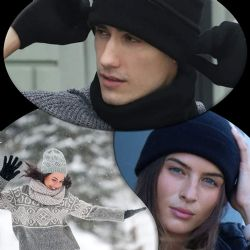 Yacht & Smith Mens Warm Winter Hats And Glove Set Assorted Colors 24 Pieces