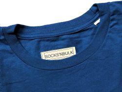 Yacht & Smith Mens Cotton Crew Neck Short Sleeve T-Shirts, Royal Blue, 3x Large
