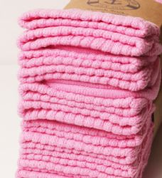 Yacht & Smith Slouch Socks For Women, Solid Pink Size 9-11 - Womens Scrunchie Sock