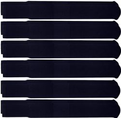 Yacht & Smith Men's Navy Cotton Terry Athletic Tube Socks, Size 10-13