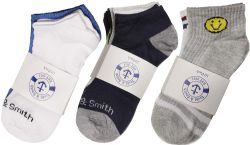 Yacht & Smith Boys Colorful Fun Printed Thin Lightweight Low Cut Ankle Socks