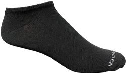 Bulk Pack Womens Light Weight No Show Low Cut Breathable Socks, Solid Black Size 9-11