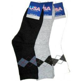 Ladies Argyle Socks