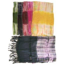 Light Scarf tie dye 60 pack