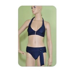 2 Piece Solid Swimsuit Set 72 pack