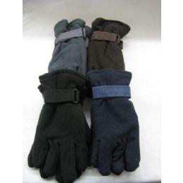 Mens Fleece Glove 72 pack