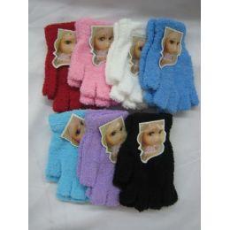 Super Fuzzy Fingerless Gloves 144 pack