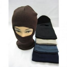 Winter Ski Mask Mixed Colors 72 pack