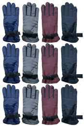 Yacht & Smith Women's Winter Warm Waterproof Ski Gloves, One Size Fits All Bulk Pack 24 pack