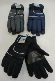 Men's Dark Colors Snow Gloves 36 pack