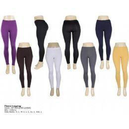 Seemless Fleece Legging For Ladies 144 pack