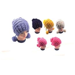 ladies Pom Pom Hat 36 pack
