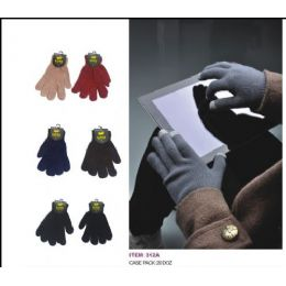 Assorted Colors Texting Glove 240 pack