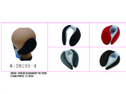 Soft Solid Earmuff W/ Faux Fur 120 pack