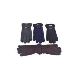 Mens Winter Fleece Gloves 60 pack