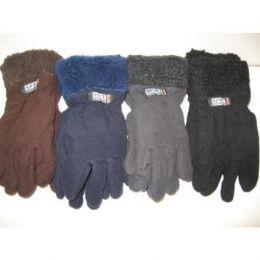 Fleece Gloves w/ Fur Top 96 pack