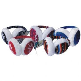 Ear Muff Knit Designs 48 pack