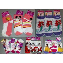 Walt Dsisney Mix Socks For Girls 300 pack