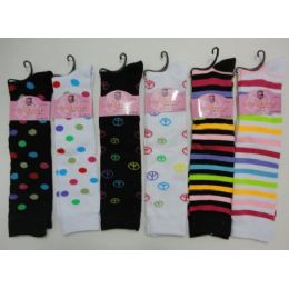 "12"" Knee High Socks-Assortment 48 pack"