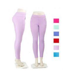 Ladies Black Stretch Pants / Leggings 36 pack