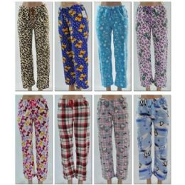 LADIES FLEECE PANTS / Lounge Pants 96 pack