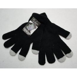 Wholesale Texting Gloves Lady's Size Black Color 120 pack