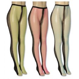 Ladies Assorted Color Tights 36 pack