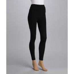 Ladies HEAVY Fleece Lined Winter Warm Leggings 60 pack