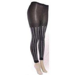 One Size Women's Isadora Print Leggings 36 pack